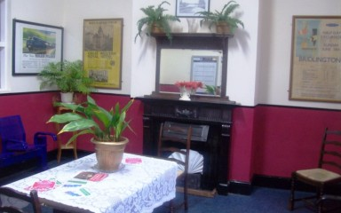 Nostalgic Waiting Room at Poynton Railway Station